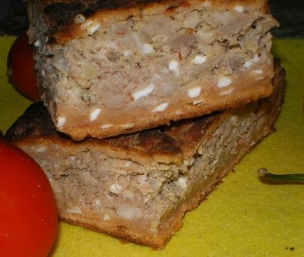 Мясной пирог Красный мак