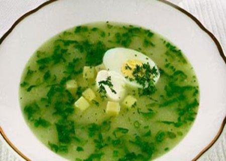 Рецепт Суп с крапивой и картофелем
