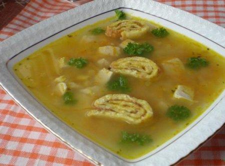 Рецепт Кукурузный суп с куриным филе
