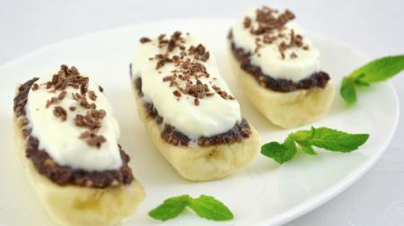 Рецепт Десерт из бананов