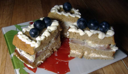 Рецепт Закусочный тортик с селедкой