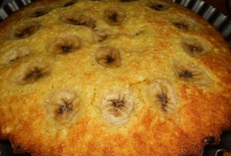 Рецепт Творожный кекс с бананом