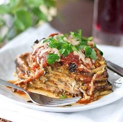 Рецепт Баклажаны с помидорами и пармезаном