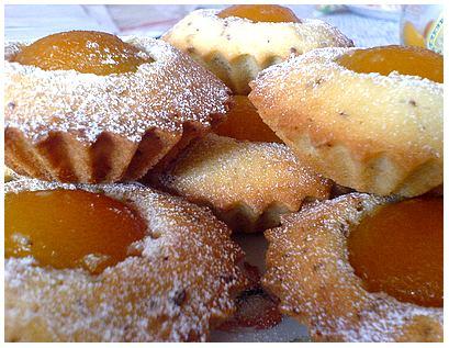 Рецепт Маффины с абрикосом и шоколадом