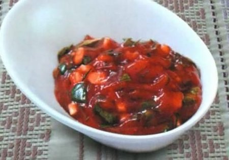 Рецепт Томатный соус для шашлыка