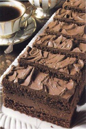 Рецепт Шоколадные пирожные с изюмом