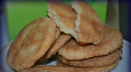 Рецепт Кокосовые хрустики