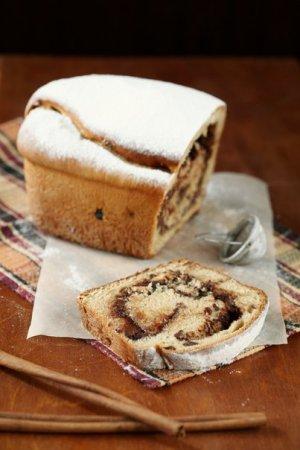 Рецепт Кекс-рулет с шоколадно-ореховой начинкой
