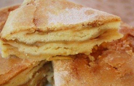 Рецепт Необычный яблочный пирог