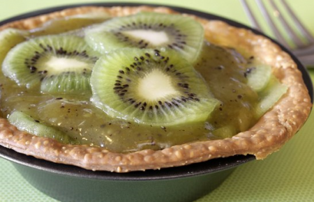 Рецепт Порционный пирог с начинкой из киви