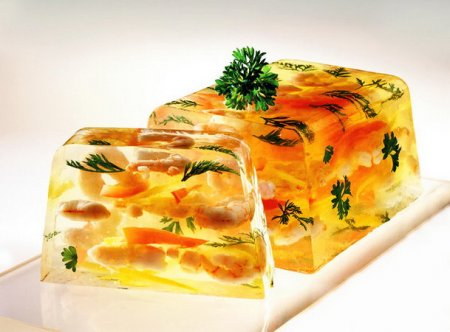 Рецепт Заливное из креветок