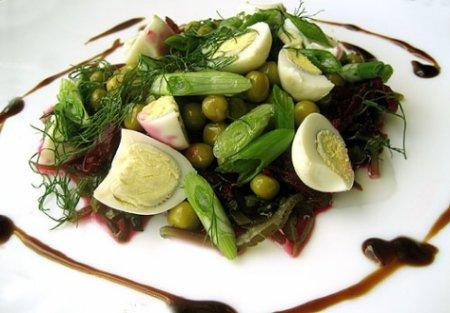 Рецепт Салат из морской капусты и свеклы