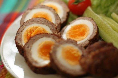 Рецепт Мясные зразы с яйцом
