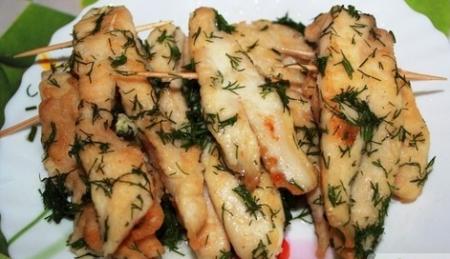 Рецепт Лягушачьи лапки из курицы