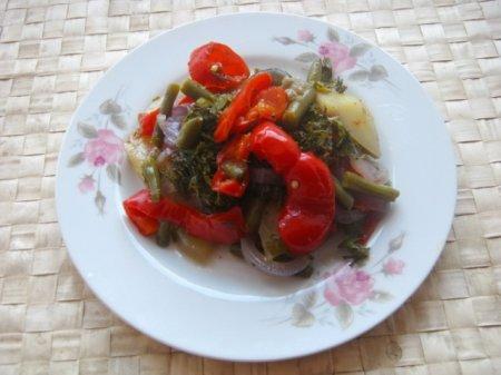 Рецепт Айлазан - тушенные овощи