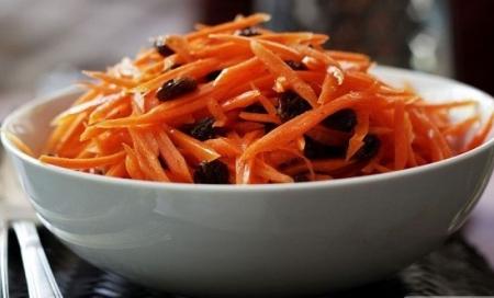 Рецепт Салат с имбирем и морковью