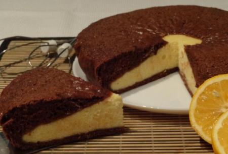 Рецепт Шоколадная ватрушка