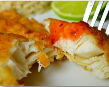 Рецепт Рыбное филе, жареное в пивном кляре