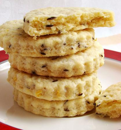 Рецепт Песочное печенье с тмином