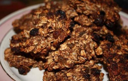 Рецепт Бананово-овсяное печенье