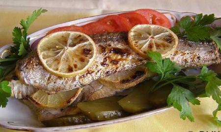 Рецепт Хек в духовке с лимоном