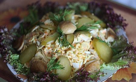 Рецепт Салат с мивиной