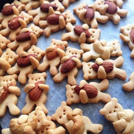 Песочное печенье Медвежата
