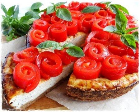 Рецепт Чизкейк со сладким перцем