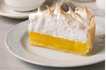 Рецепт Лимонный пирог с воздушной шапочкой из меренги