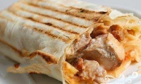 Рецепт Рыба, запеченная в лаваше