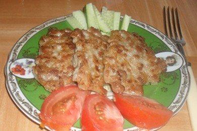 Рецепт Рубленые котлеты из свинины