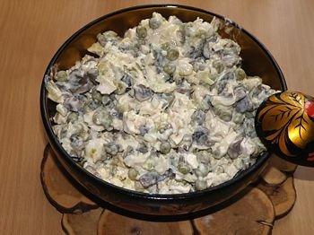 Рецепт Салат курочка ряба