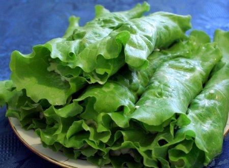 Рецепт Зеленый салат с творогом и зеленью