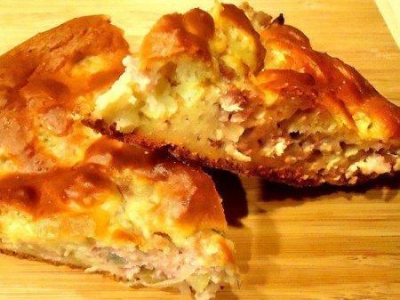 Пирог с мясом «Легче не бывает