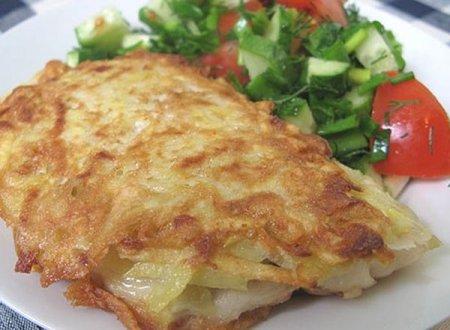 Рыба в картофельном кляре: