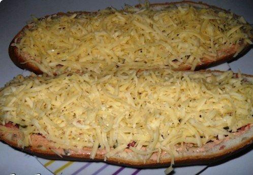 Пицца на батоне в духовке рецепт пошагово