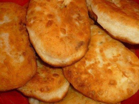 Пирожки с капустой из бездрожжевого теста
