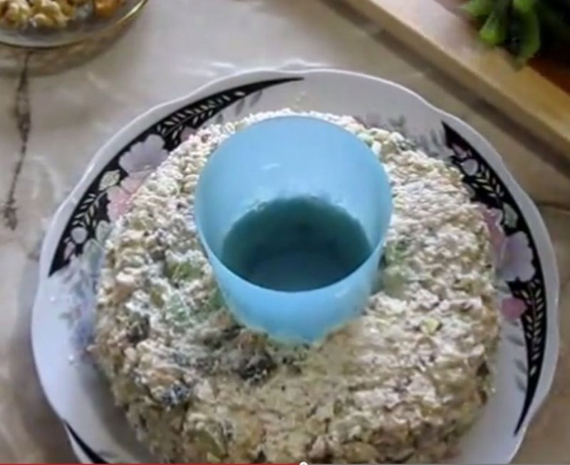 салат изумрудный рецепт с фото с курицей