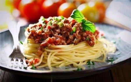 Макароны с итальянской подливой