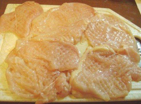 Отбивные из куриной грудки рецепт пошагово