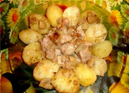 Свинина по деревенски с картошкой в