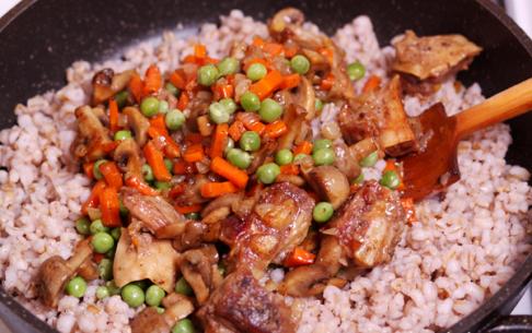 рецепт перловая каша с мясом и грибами в