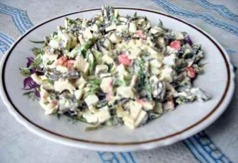 Салат из морской капусты рецепты с картинками