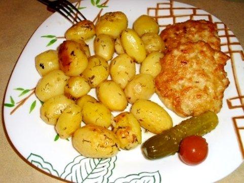 Картофель быстро и вкусно