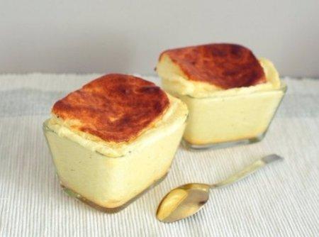 Сырное суфле.