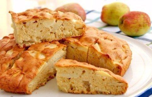 шарлотка с яблоками майонез рецепт с фото