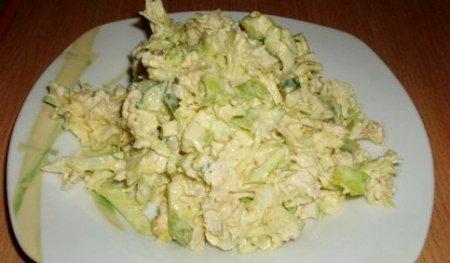 Сытный салатик Вечерний