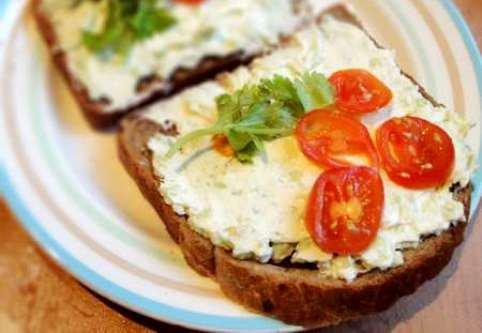 Рецепты закусок на хлебцах