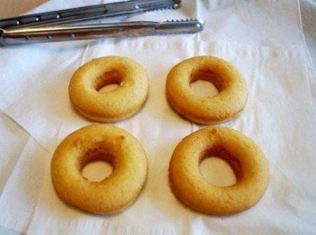 Нежные пончики без дрожжей