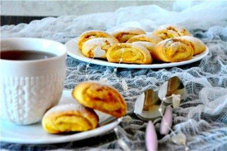Печенье с апельсиновой начинкой.